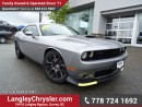 Used 2016 Dodge Challenger R/T Scat Pack EX-DEMO! W/ 6.4L V8 SRT HEMI, HIGH PERFORMANCE SUSPENSION & NAVIGATION for sale in Surrey, BC