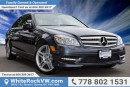 Used 2011 Mercedes-Benz C-Class LOCAL VEHICLE, NAVIGATION, REAR VIEW CAMERA for sale in Surrey, BC