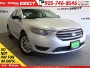 Used 2014 Ford Taurus SE| POWER SEAT| WE WANT YOUR TRADE| for sale in Burlington, ON