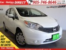 Used 2016 Nissan Versa Note 1.6 SV| WE WANT YOUR TRADE| OPEN SUNDAYS| for sale in Burlington, ON