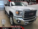 New 2017 GMC Sierra 2500 HD SLT-6.0L, Navigation, HD Trailering, Heated/Cooled Leather for sale in Lethbridge, AB