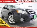 Used 2008 Subaru Outback 3.0 R Premier Package| NAVI| SUNROOF| AWD| for sale in Burlington, ON