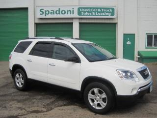 Used 2012 GMC Acadia SLE1 for sale in Thunder Bay, ON