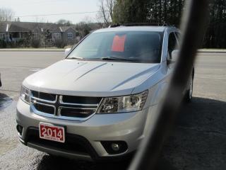 Used 2014 Dodge Journey SXT for sale in Brockville, ON