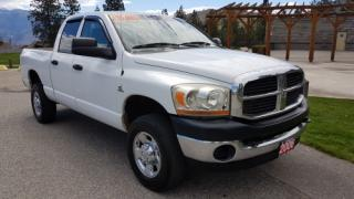 Used 2006 Dodge Ram 2500 ST QUAD CAB 4WD for sale in West Kelowna, BC