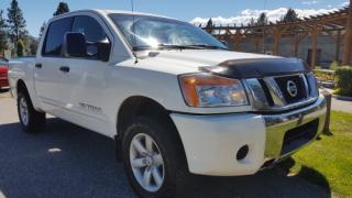 Used 2011 Nissan Titan S Crew Cab 4WD for sale in West Kelowna, BC