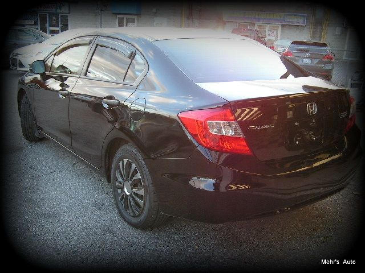 2012 Honda Civic DX 4Dr Manual No Accident Ont Car