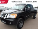 Used 2014 Nissan Titan PRO-4X 4x4 Crew Cab SWB for sale in Edmonton, AB