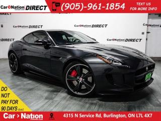 Used 2017 Jaguar F-Type S| AWD| PANO ROOF| NAVI| LOCAL TRADE| for sale in Burlington, ON