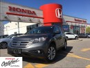 Used 2013 Honda CR-V EX-L, one owner, original roadsport car for sale in Scarborough, ON