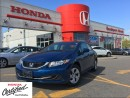 Used 2014 Honda Civic Sedan LX, one owner, HOnda Certified, low rates for sale in Scarborough, ON