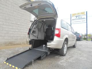 Used 2016 Chrysler Town & Country TOURING Wheelchair Accessible Rear Entry for sale in London, ON