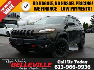 Used 2016 Jeep Cherokee Trailhawk for sale in Belleville, ON