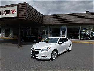 Used 2016 Chevrolet Malibu Limited LTZ for sale in Langley, BC