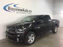 Used 2017 Dodge Ram 1500 SPORT- HEMI! PUSH BUTTON START! U-CONNECT! 1300KM! for sale in Belleville, ON