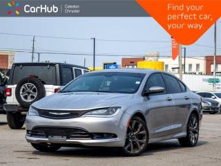 Used 2016 Chrysler 200 S Navigation Panoramic Sunroof Leather Heated & Ventilated front Seats Bluetooth Remote Start 19
