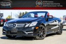 Used 2013 Mercedes-Benz E-Class E350|AMG|Pwr Soft Top|Navi|Backup Cam|Bluetooth|Attention Assist|Leather|18