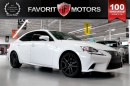 Used 2014 Lexus IS 350 F SPORT AWD | RED LTHR | NAV | BACK CAM for sale in North York, ON