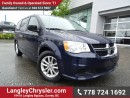 Used 2015 Dodge Grand Caravan SE/SXT W/ SINGLE DVD ENTERTAINMENT, U-CONNECT BLUETOOTH & STOW N GO SEATS for sale in Surrey, BC