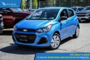 New 2017 Chevrolet Spark LS Manual Backup Camera for sale in Port Coquitlam, BC
