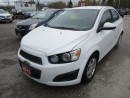 Used 2012 Chevrolet Sonic 5-SPEED MANUAL 'GREAT VALUE' LT MODEL 5 PASSENGER 1.8L - ECO-TEC.. CD/AUX INPUT.. KEYLESS ENTRY.. for sale in Bradford, ON