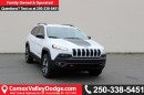 New 2017 Jeep Cherokee Trailhawk HEATED SEATS, NAV, SXM HANDS-FREE, BACK UP CAMERA, TRAILER TOW GROUP for sale in Courtenay, BC