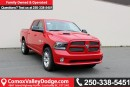 New 2017 Dodge Ram 1500 Sport HEATED/VENTILATED FRONT SEATS, HEATED STEERING WHEEL, BACK UP CAMERA, TRAILER BRAKE CONTROL for sale in Courtenay, BC