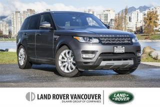 Used 2017 Land Rover Range Rover Sport Diesel Td6 HSE *Certified 6yr/160,000km Warranty! for sale in Vancouver, BC