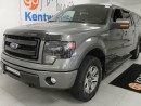 Used 2014 Ford F-150 FX4 in a slaying grey with leather, and NAV for sale in Edmonton, AB
