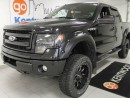 Used 2014 Ford F-150 Jacked up FX4 with leather seats! NAV! back up cam! for sale in Edmonton, AB