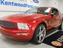 Used 2007 Ford Mustang V6- Bringin it back old school in this red hot Mustang Coupe for sale in Edmonton, AB
