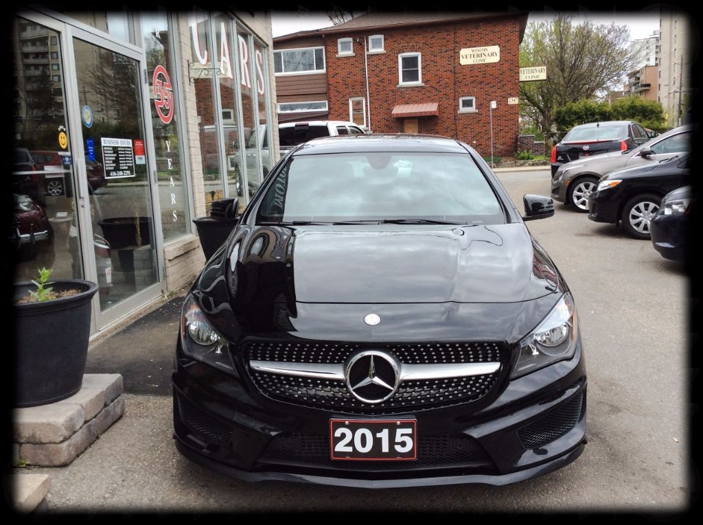 Used 2015 mercedes benz cla250 cla 250 awd navi leather for Mercedes benz cla250 used