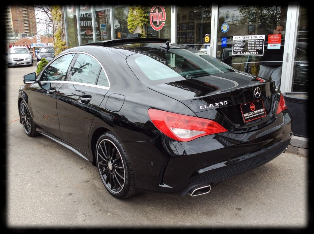 used 2015 mercedes benz cla250 cla 250 awd navi leather sport wheels for sale in york ontario. Black Bedroom Furniture Sets. Home Design Ideas