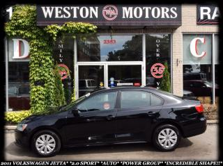 Used 2011 Volkswagen Jetta 2.0 SPORT*AUTO*POWER GROUP*INCREDIBLE SHAPE* for sale in York, ON