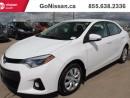 Used 2014 Toyota Corolla S 4dr Sedan for sale in Edmonton, AB