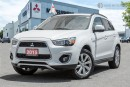 Used 2015 Mitsubishi RVR 2.4L 4WD SE Limited -  Mitsubishi Canada Demo for sale in Mississauga, ON