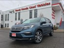 Used 2016 Honda Pilot Touring - Navigation - Leather - Pano Roof for sale in Mississauga, ON