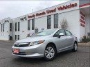 Used 2012 Honda Civic LX   1.99% FINANCING for sale in Mississauga, ON