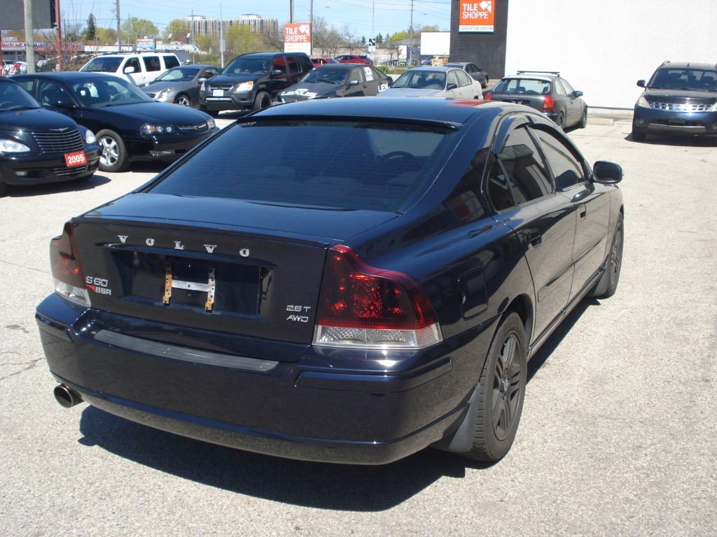 used 2007 volvo s60 2 5l turbo for sale in scarborough ontario. Black Bedroom Furniture Sets. Home Design Ideas