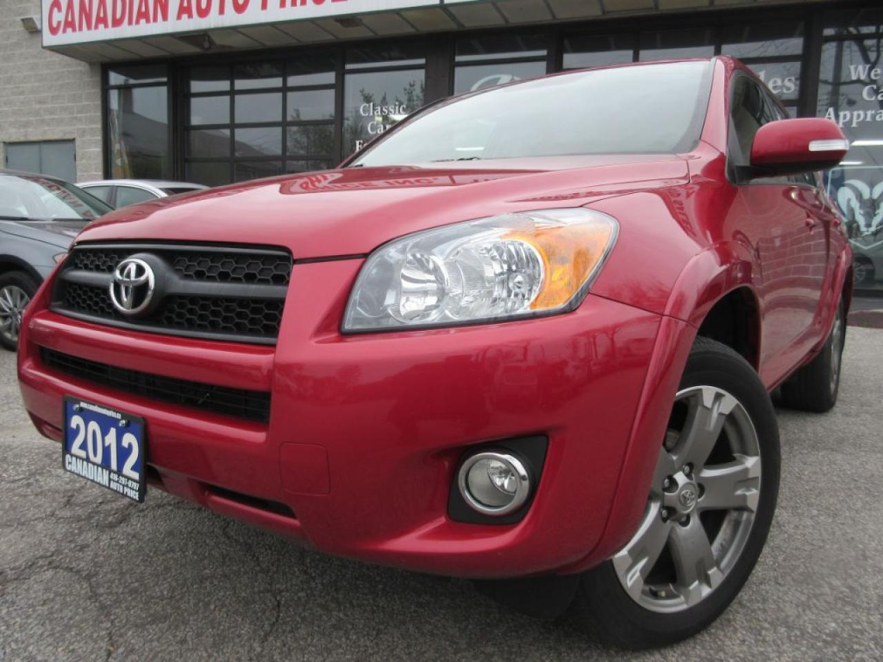 2012 Toyota RAV4 SPORT-4WD-SUNROOF-ALLOYS