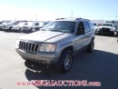 Used 2002 Jeep Grand Cherokee Limited 4D Utility 4WD for sale in Calgary, AB