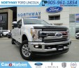 Used 2017 Ford F-350 Lariat | NEW VEHICLE | for sale in Brantford, ON