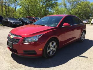 Used 2014 Chevrolet CRUZE DIESEL * 1 OWNER * LEATHER * REAR CAM * BLUETOOTH * LOW KM for sale in London, ON