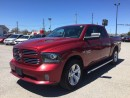 Used 2014 RAM 1500 SPORT * 4WD * LEATHER * SUNROOF * REAR CAM * NAV * BLUETOOTH for sale in London, ON