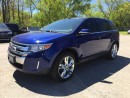 Used 2013 Ford EDGE LIMITED * AWD * LEATHER * SUNROOF * NAV * REAR CAM * BLUETOOTH for sale in London, ON