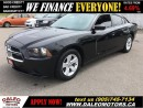 Used 2014 Dodge Charger SE 3.6L V6 BLACK ON BLACK for sale in Hamilton, ON