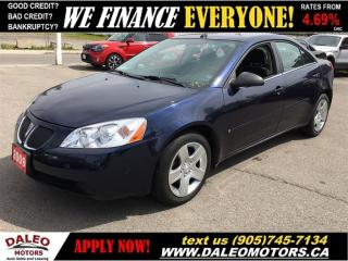 Used 2009 Pontiac G6 SE | ONLY 82 KMS | NO CREDIT-CHECK LEASING! for sale in Hamilton, ON