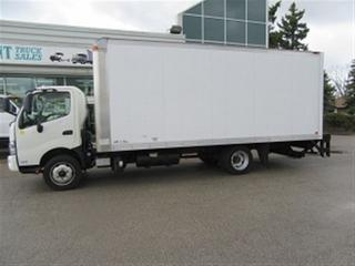 Used 2013 Hino 195 diesel with 20 ft aluminum box for sale in Richmond Hill, ON