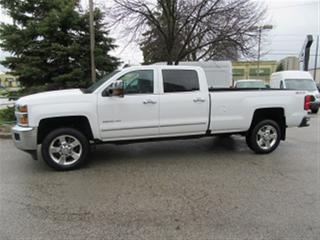 Used 2016 Chevrolet Silverado 2500HD LTZ Crew Cab 4x4 gas long box loaded for sale in Richmond Hill, ON