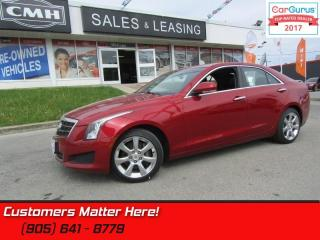 Used 2013 Cadillac ATS 3.6 Luxury   - AWD -  3.6L -  CUE for sale in St Catharines, ON